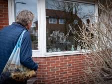 Gluren naar kunst op vensterbanken van inwoners Velp