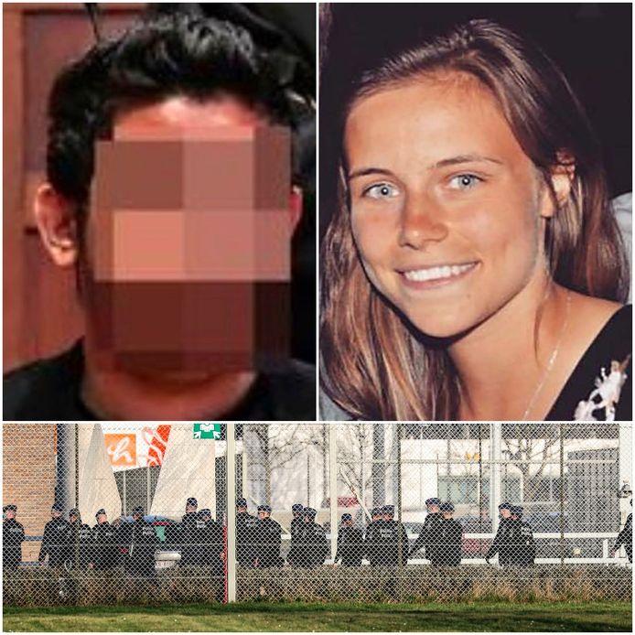 Faton S. gijzelde vorige week cipier Morgane in de Brugse gevangenis.