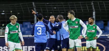 FC Dordrecht geïsoleerd op de bodem na nederlaag tegen Jong FC Utrecht