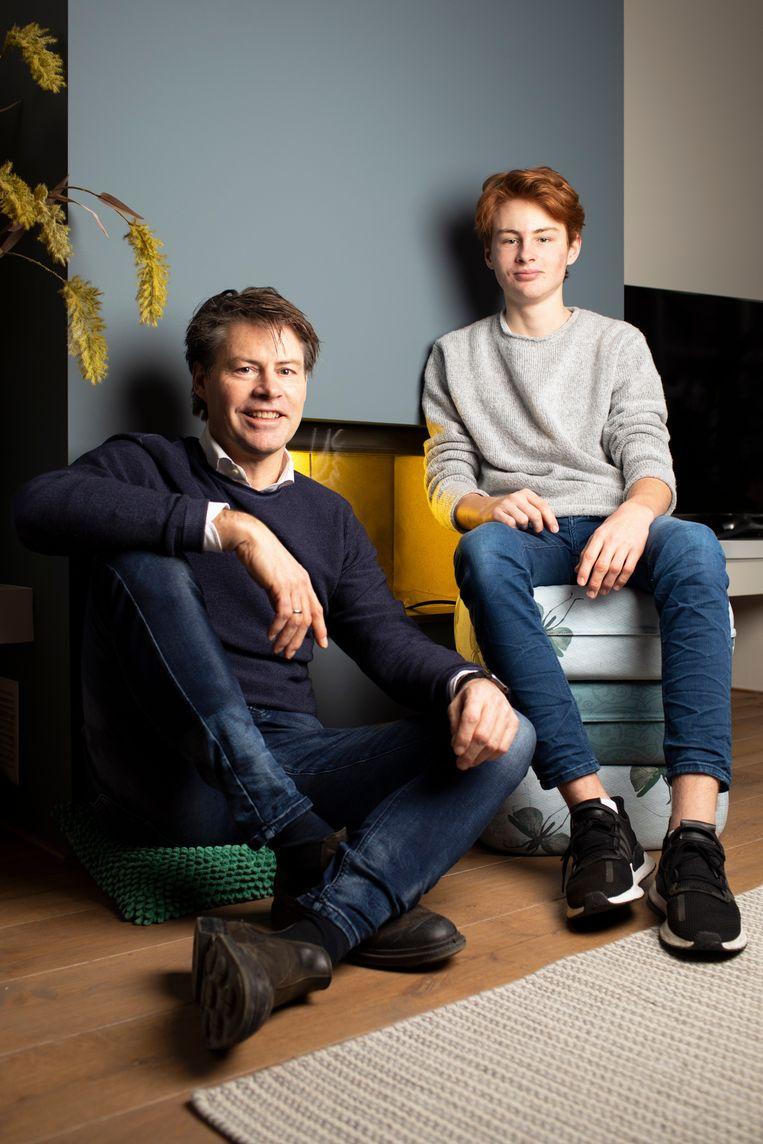 Gaby en Thijn. Beeld Harmen de Jong