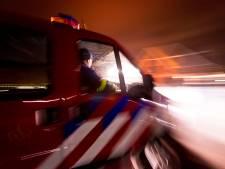 Fikse dakbrand in Gasselternijveen: bewoners weten op tijd uit woning te komen