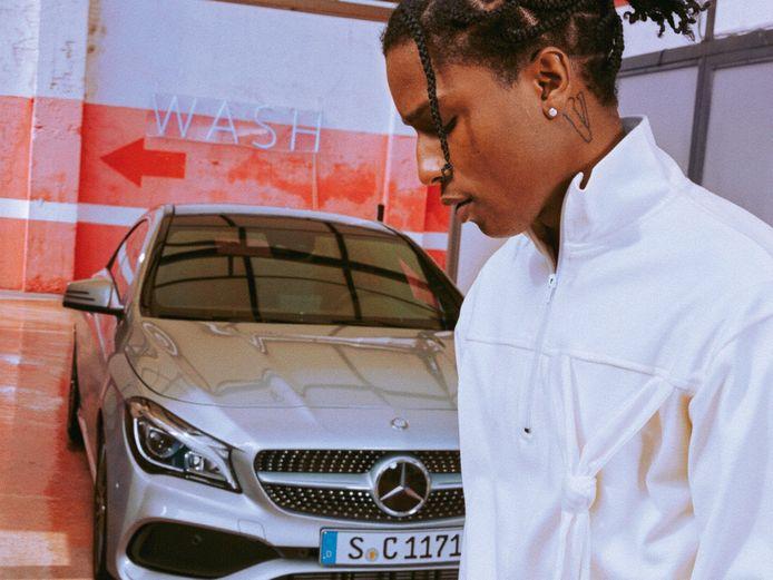 A$AP Rocky maakte zelfs een reclamecampagne voor Mercedes-Benz.