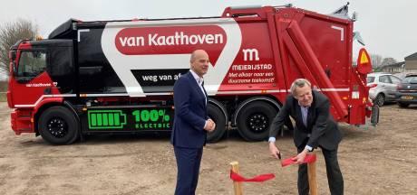 Meierijstad heeft nu ook een elektrische vuilniswagen