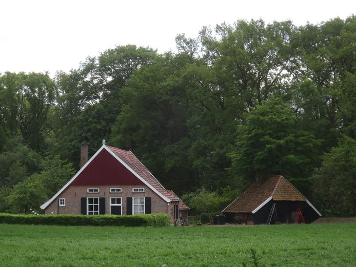 Een beeld als dit, een mooie boerderij in het Achterhoekse landschap, wil men behouden in Bronckhorst. Foto ter illustratie.