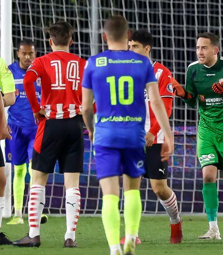 Rode kaart van TOP Oss-keeper Bo Geens geseponeerd; KNVB acht overtreding 'niet overtuigend bewezen'