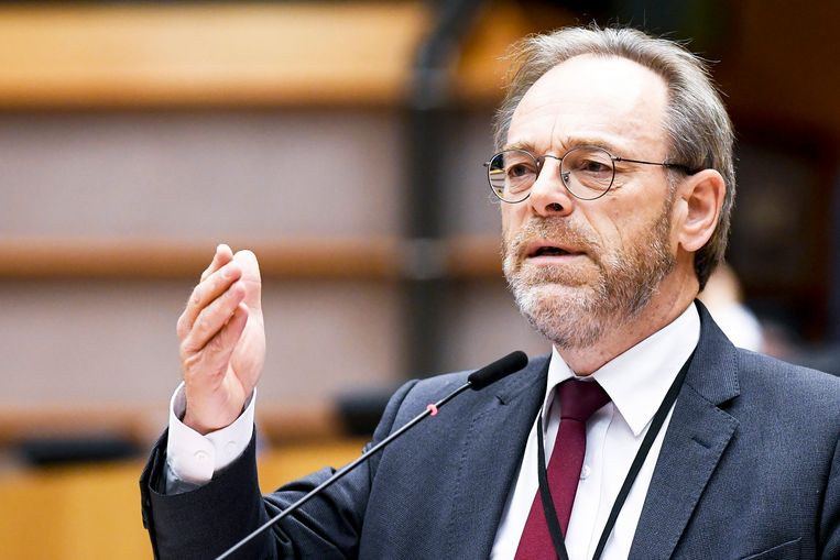 N-VA-fractieleider Peter De Roover. Beeld Photo News