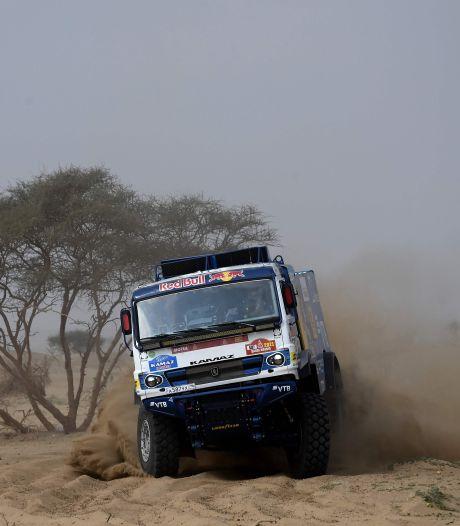Tourbubbel staat model voor Dakar Rally