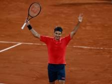 Federer door na nachtwerk op Roland Garros, ook Djokovic en Nadal verder, Koolhof en Rojer stranden in dubbelspel