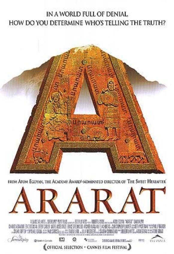 De film Ararat staat centraal, vrijdagavond in de Budascoop