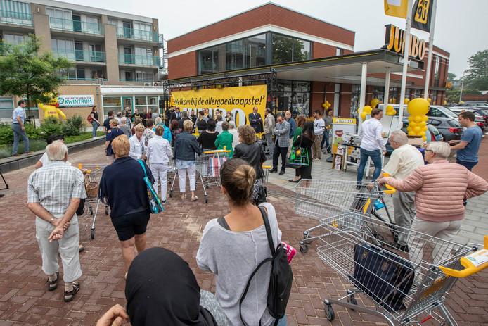 De feestelijke opening van de Jumbo in Kwintsheul.