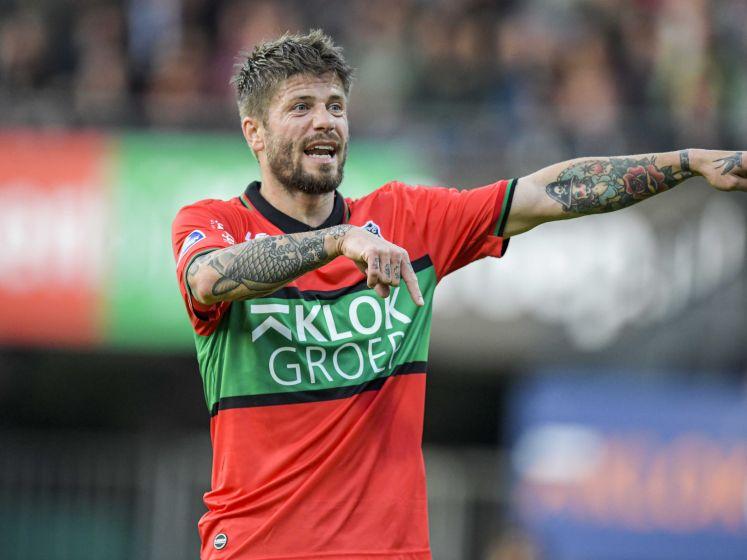 Schöne gaat voorop in strijd in derby tegen Vitesse: 'Ik heb niks met haat, ik spreek van liefde voor NEC'