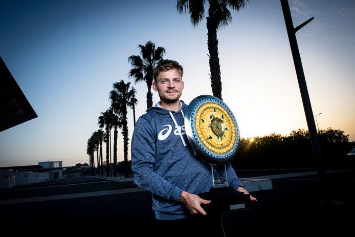 Le sacre conquis à Montpellier permet à David Goffin de grimper au 14e rang mondial.