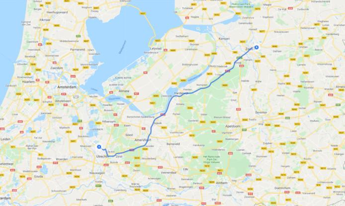 Etappe 1: Utrecht - Zwolle