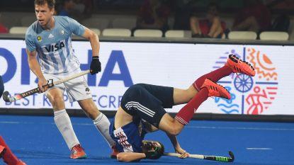 Argentinië stoot door naar kwartfinales op WK hockey, Frankrijk en Nieuw-Zeeland spelen barrages