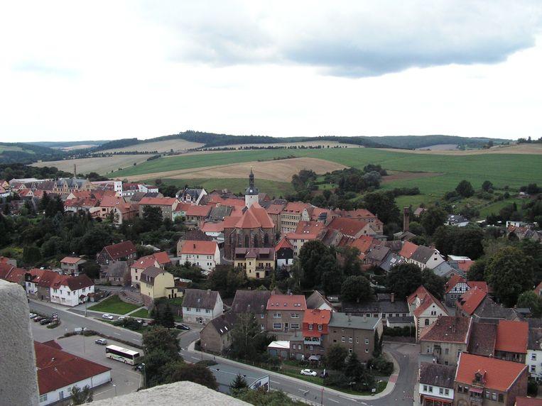 Uitzicht over het dorpje Mansfeld. Beeld Flickr/Romantikgeist
