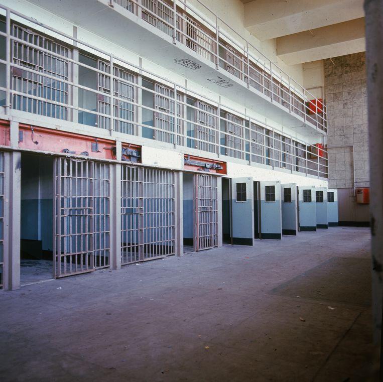 De gevangenis sloot in 1963. Beeld Getty Images