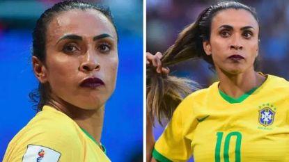 Marta trapte zich in geschiedenisboeken, maar ook opvallende make-up hield volgers bezig