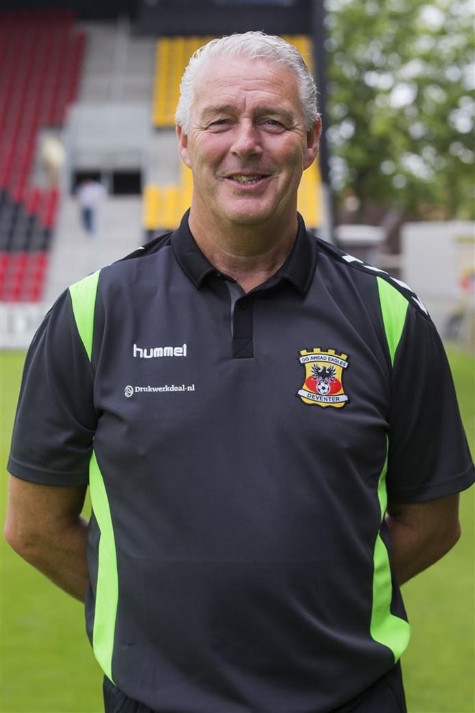 DEVENTER - Voetbal, Persdag Go Ahead Eagles, Eredivisie seizoen 2016-2017, Stadion De Adelaarshorst, 15-07-2016, GA Eagles-trainer Hans de Koning.