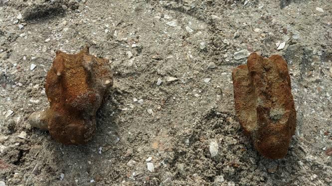 Twee onontplofte mortieren gevonden bij opgravingen in Sint-Annabos