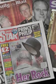 Eresaluut voor Philip dondert over Britse eilanden