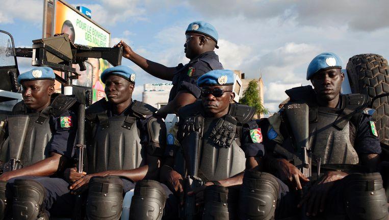 (Archiefbeeld) Militairen in Bamako. Beeld REUTERS