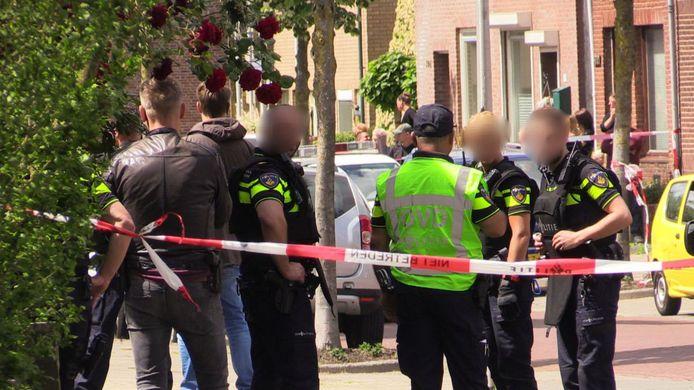 Veel politie op de been in Enschede.