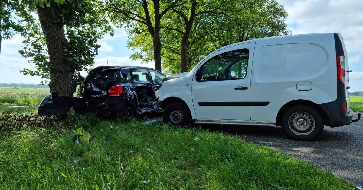 Zwaargewonde bij ongeluk in Nieuwleusen.