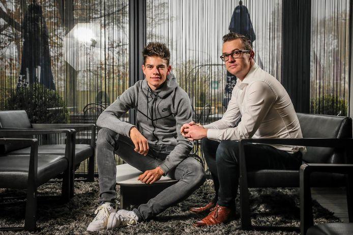 Nick Nuyens en Wout van Aert in betere tijden.
