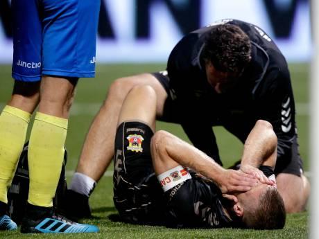 Seizoen Wout Droste lijkt voorbij: verdediger GA Eagles scheurt kruisband