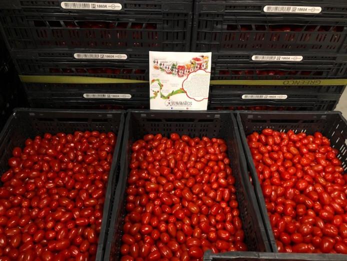Greenco deelt gratis snacktomaatjes uit