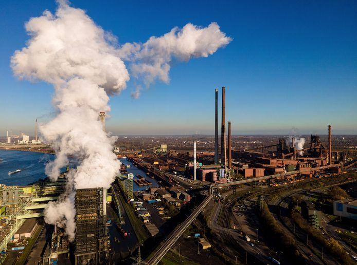 Fabriek van ThyssenKrupp in Duisburg