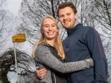 Lieke en Lejon hebben een relatie en korfballen samen: 'Als jij een verkeerde bal gooit, laat ik dat wel weten'