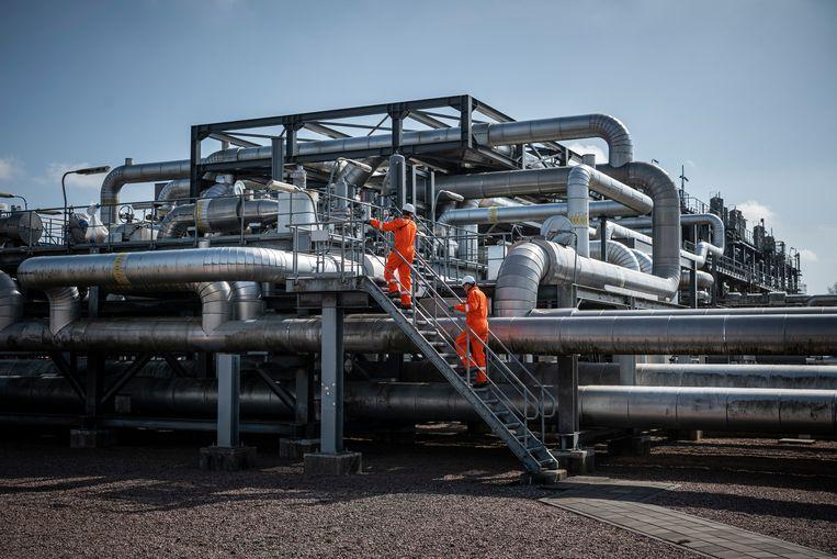 Gasopslag in het Nederlandse Langelo. Beeld Kees van de Veen