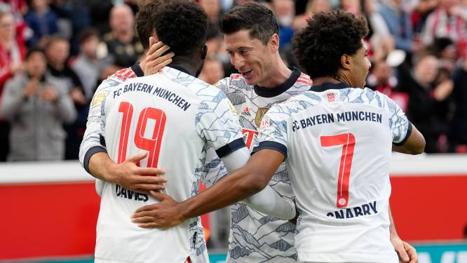 Bundesliga: le Bayern écrase Leverkusen et reprend la tête
