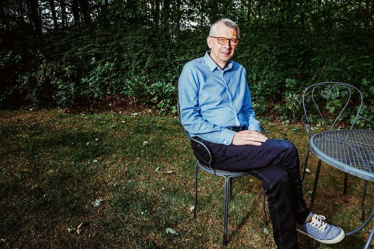 Jan De Maeseneer: 'Iedereen gevaccineerd tegen september: dat zou een mooi resultaat zijn.' Beeld © Stefaan Temmerman