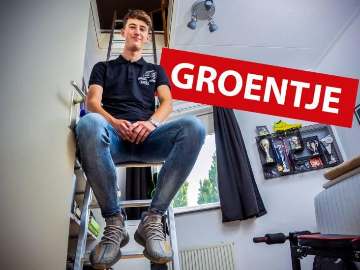 Jurre (17) wil werk vinden dat bij hem past en waar hij het naar zijn zin heeft: 'Niet teveel nadenken over geld'