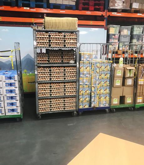 Vrijwilligers van voedselbanken in Zuidoost-Brabant maken overuren