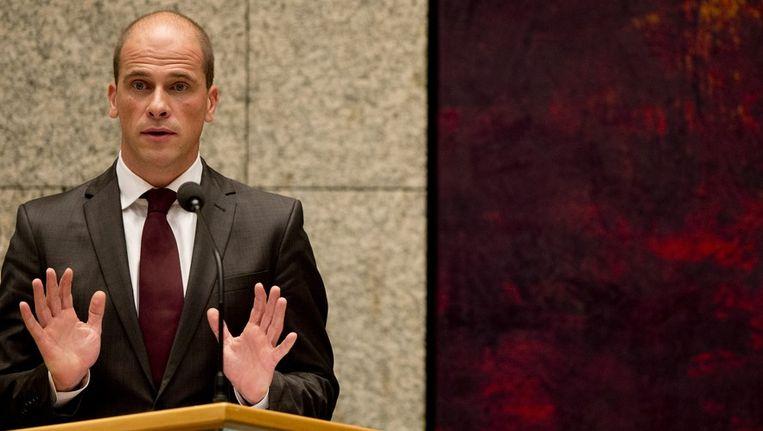 PvdA-fractievoorzitter Diederik Samsom. Beeld anp