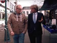 Burgemeester Witteman promoot referendum met Jan Roos