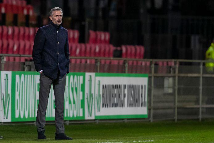 Kees van Wonderen ziet GA Eagles een redelijke eerste helft en een moeizame tweede helft spelen tegen Jong PSV.