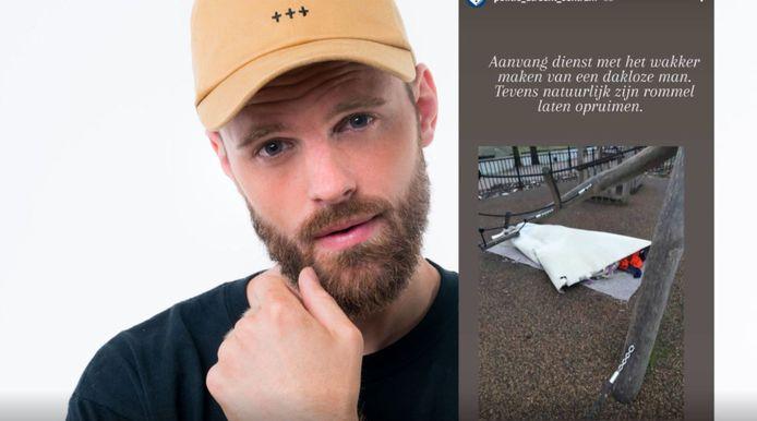 Tim Hofman. Inzet: bericht van de politie op Instagram.