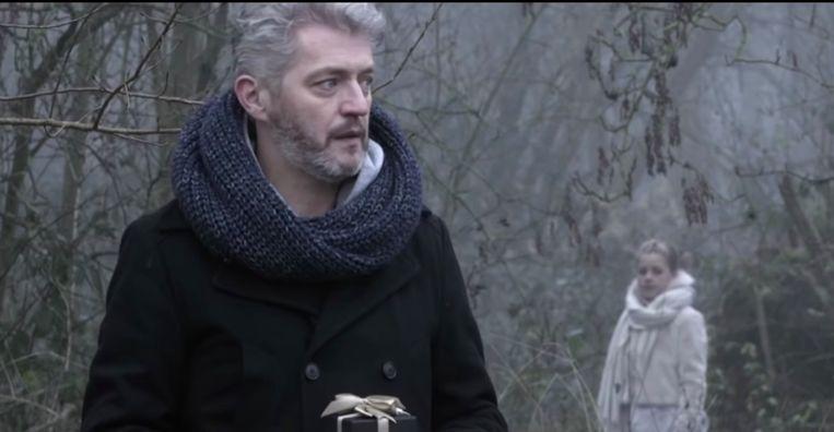 Kürt Rogiers en Merlijn in de videoclip van Shane Hendrix