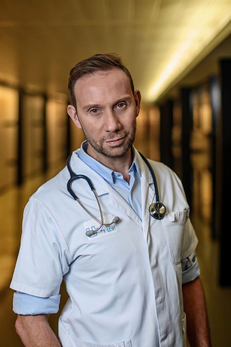 Endocrinoloog Guy T'Sjoen (UZ Gent) Beeld Geert Van de Velde
