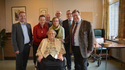 Georgette viert honderdste verjaardag in Wakken