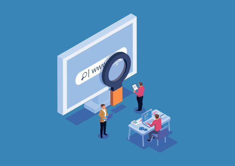 Zijn data en geld voor onderzoek naar slimme zoekmachines het waard om universiteiten te binden aan Huawei?  Beeld Getty Images