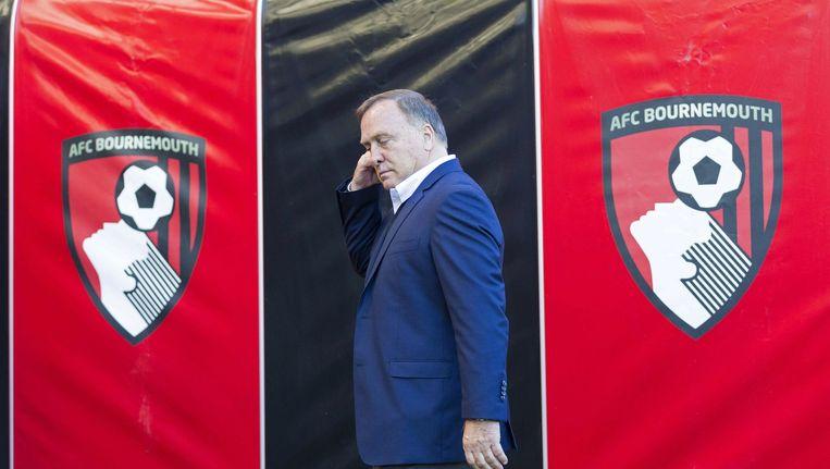 Dick Advocaat wist ook tegen Bournemouth niet te winnen Beeld afp
