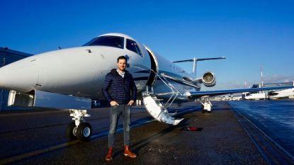 """Jochen, piloot van privéjets, heeft het in coronatijden drukker dan ooit: """"Tijdens vlucht blijf ik wel veilig in de cockpit"""""""