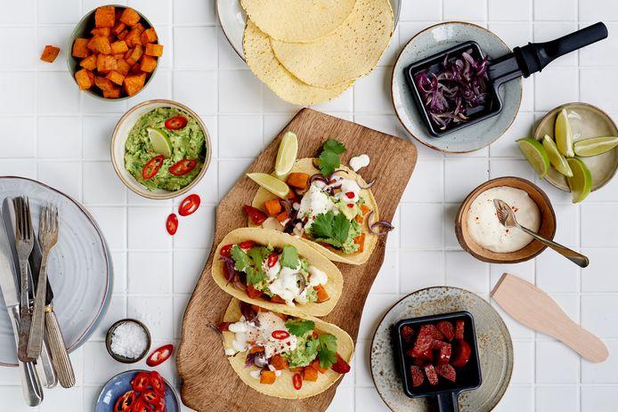 Gourmetten met een Mexicaanse twist