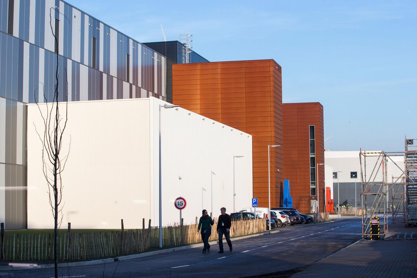 Het datacenter van Google in Eemshaven.
