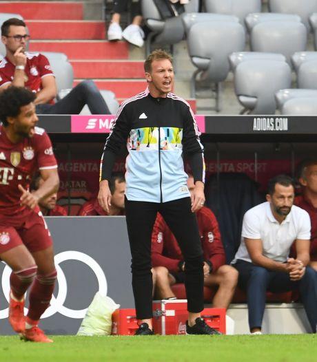 Première défaite pour le Bayern de Julian Nagelsmann